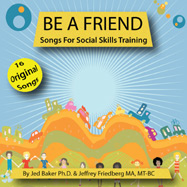 Be a Friend cover design